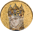 Portrait of Zoë in mosaic, Hagia Sophia, Istanbul.