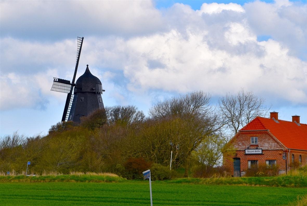 wind powered Denmark