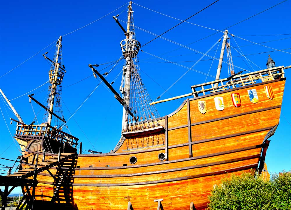 image of Magellan's ship Victoria